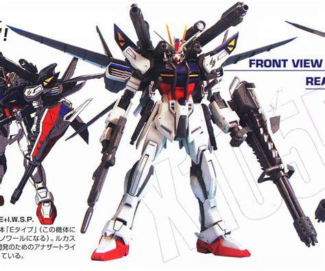 Mg Lukas Strike Iwsp Gundam gat x105e strike e iwsp lukas o donnell custom mg gundam model kits item picture1