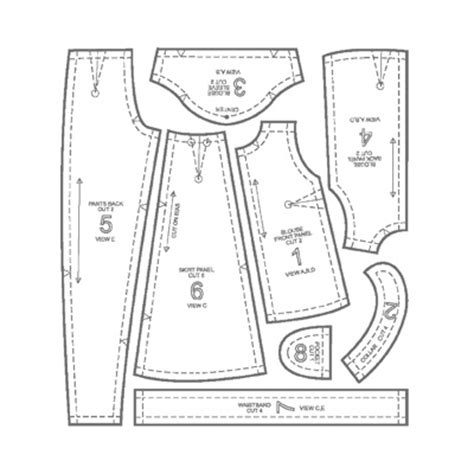 clothes pattern pieces life of a fashion design major fashion classes flat pattern