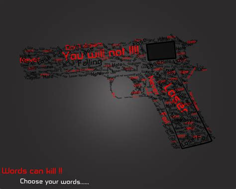 words that kill words can kill by marcoalber on