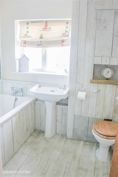 diy beach bathroom diy beach hut bathroom makeover project low budget
