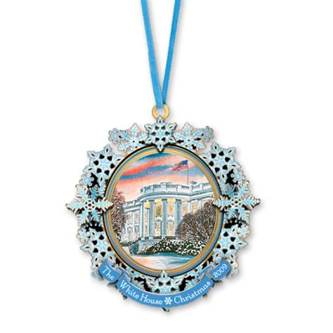 2009 white house christmas ornament first electric