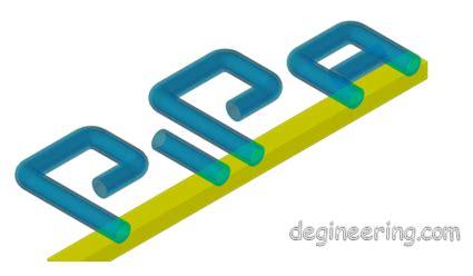 Mengambar Rancang Bangun 2d Dengan Autocad cara membuat 3d pipa dengan autocad