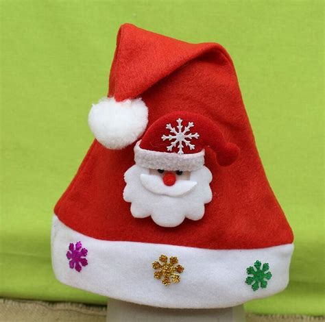 christmas hats for children kids cute santa claus hats