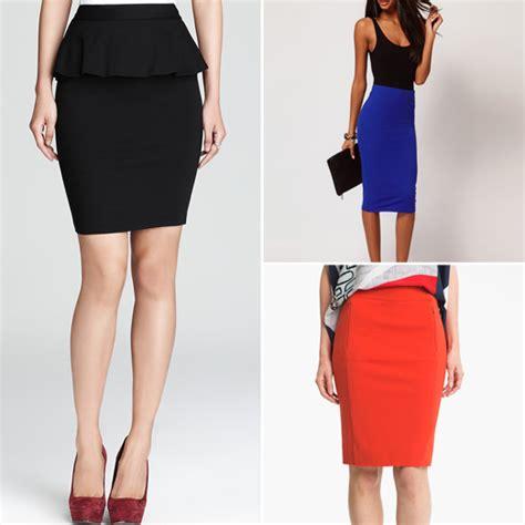 rank style the ten best pencil skirts