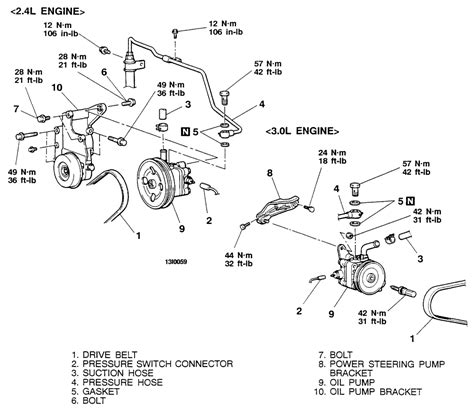 electric power steering 1991 mitsubishi galant seat position control repair guides power steering pump removal installation autozone com