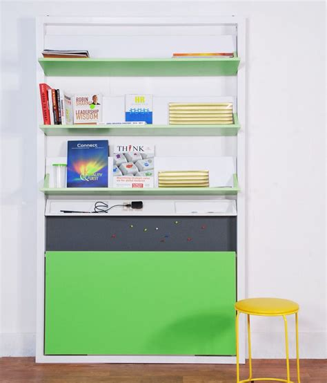 space saving shelves spaceone space saving foldable study panel with shelves buy at best price in india on