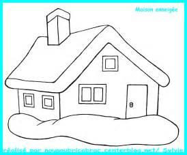maison enneig 233 e 224 colorier maison 224 colorier
