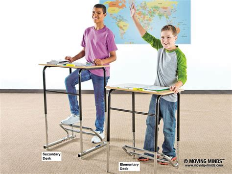 standing desks for students stand2learn desk moving minds