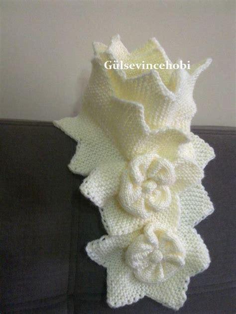 bufanda collar tejido en dos agujas bufanda tejido a dos agujas cuellos bufandas chales