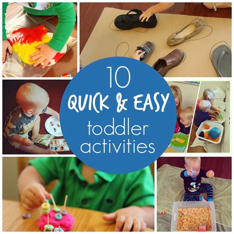toddler approved 10 days of simple toddler activities