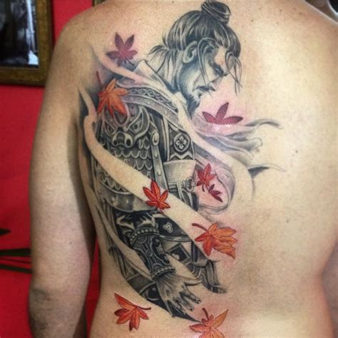 japanese warrior tattoos 75 best japanese samurai designs meanings 2018