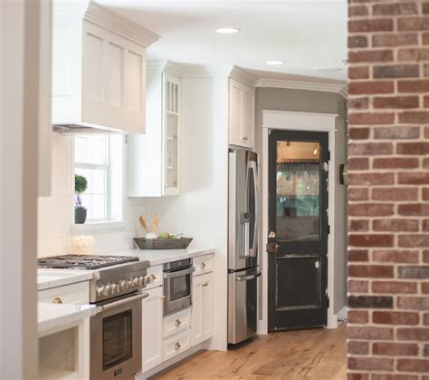 Kitchen With Pantry by Pantry Door Ideas Transitional Kitchen Troyer Builders