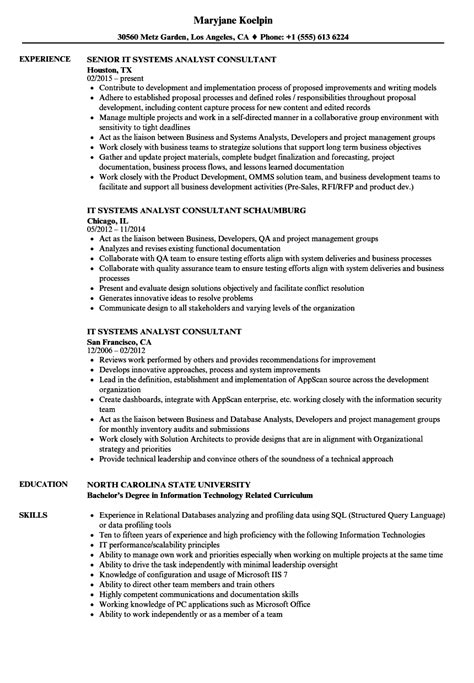 data analyst consultant resume resume objective best