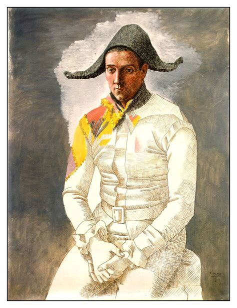 Picasso L by Picasso L Arlequin Assis Robin Camille Davis