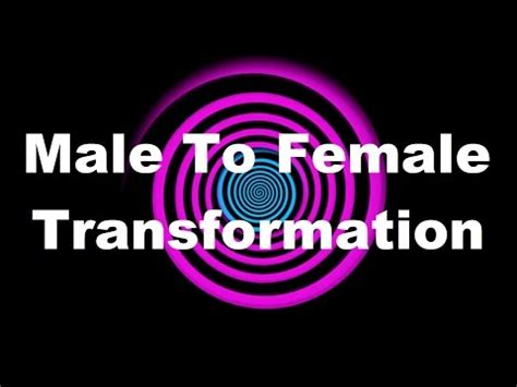accepting my inner woman subliminal hypno hypnosis male to female transformation request yourepeat