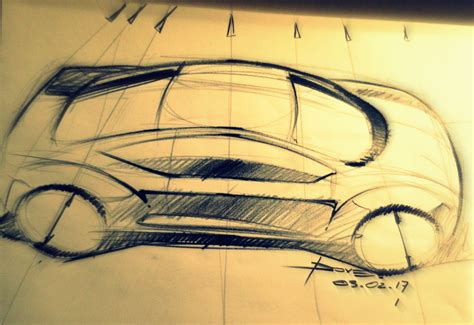 sketchbook car tutorial car sketch tutorial top view perspective www lucianobove com