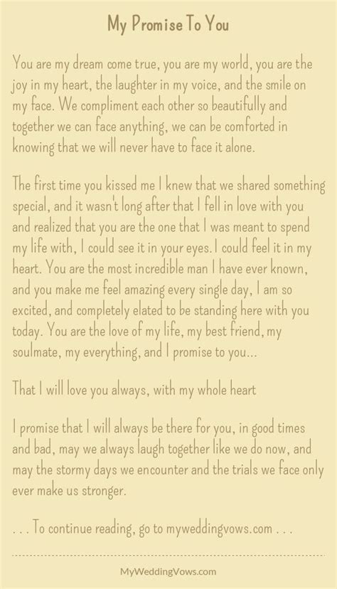 Wedding Vows To Step by Personalized Wedding Vows Best Photos Wedding Vows