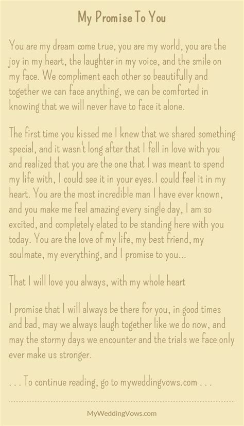 personalized wedding vows best photos   vows   Wedding