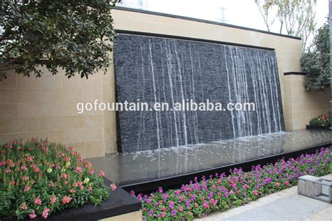 Pompa Water Wall artificial waterfalls outdoor water wall suzhou view artificial wall waterfalls go