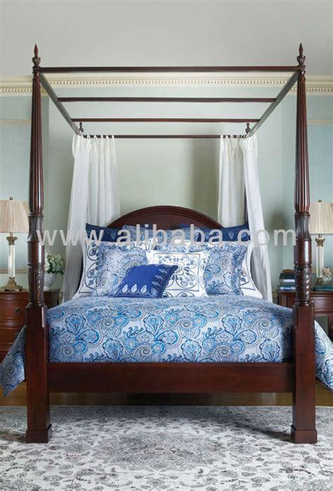 Oriental Bedroom Furniture herning 4 poster bed queen buy queen 4 poster bed