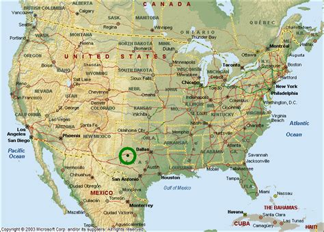map of canada and usa with cities usa map images