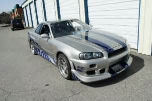 Nissan Skyline R34 For Sale Craigslist 2 Fast 2 Furious Skyline Gt R R34 For Sale On Craigslist