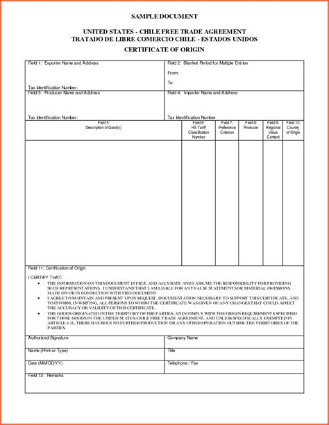certificate of origin for a vehicle template vehicle certificate of origin vehicle ideas