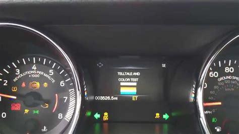 2015 mustang digital speedometer activating engineering