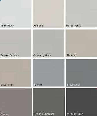 grey paint swatches most popular gray paint colors more benjamin moore