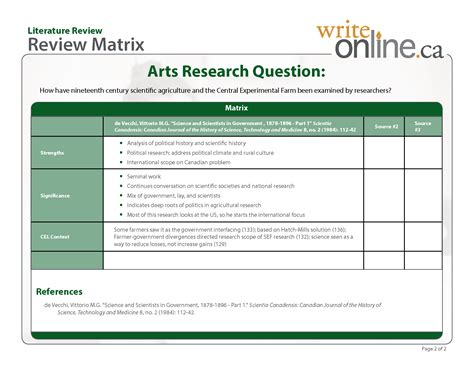 best photos of template of literature review apa literature review template literature review