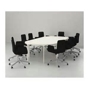 Bekant Conference Table Bekant Conference Table White 280x140 Cm Ikea