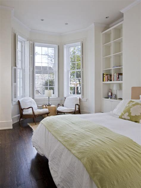 bedroom with bay window transitional bedroom photos hgtv