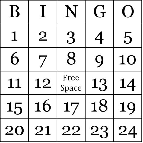 free printable bingo cards template printable birthday cards printable bingo cards september 2017