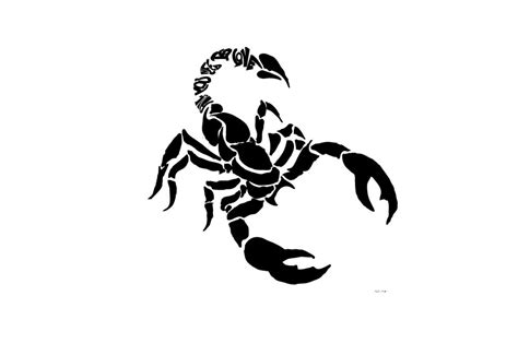top 70 latest black scorpion tattoo designs photos and