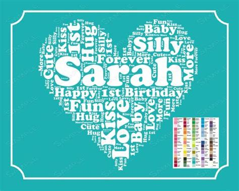 Gift Idea Free Digital Prints For by Personalized 1st Birthday Gift 1st Birthday Gift