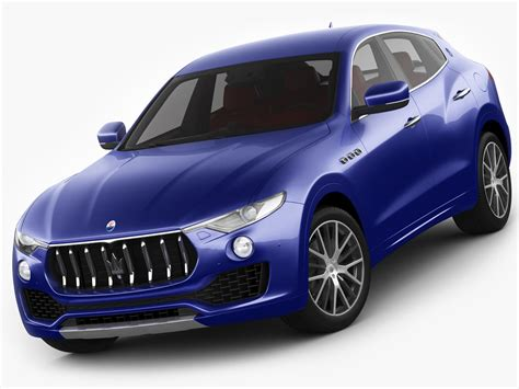maserati models 3d model of maserati levante 2017