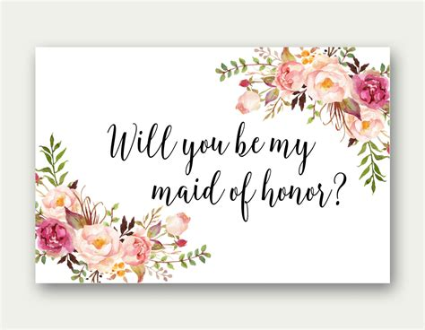 will you be my sayings combo will you be my of honor will you be my matron of