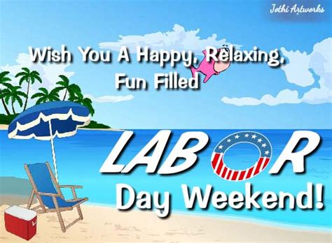 Happy Labor Day Weekend Vacation Time by Happy Labor Day Weekend Free Weekend Ecards Greeting