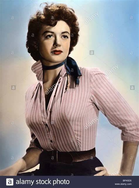 dorothy malone the private life and times of dorothy dorothy malone the lone gun 1954 stock photo royalty