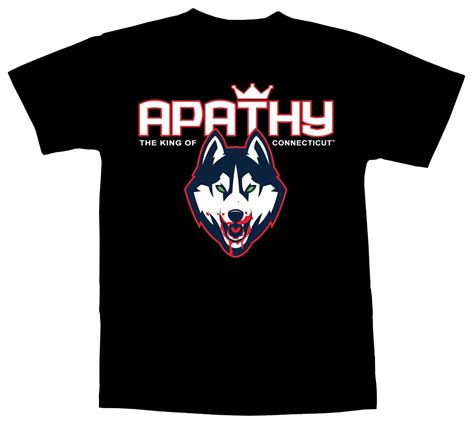 Stylish T Shirt For The Apathetic by Demigodz Store Apathy King Of Connecticut T Shirt