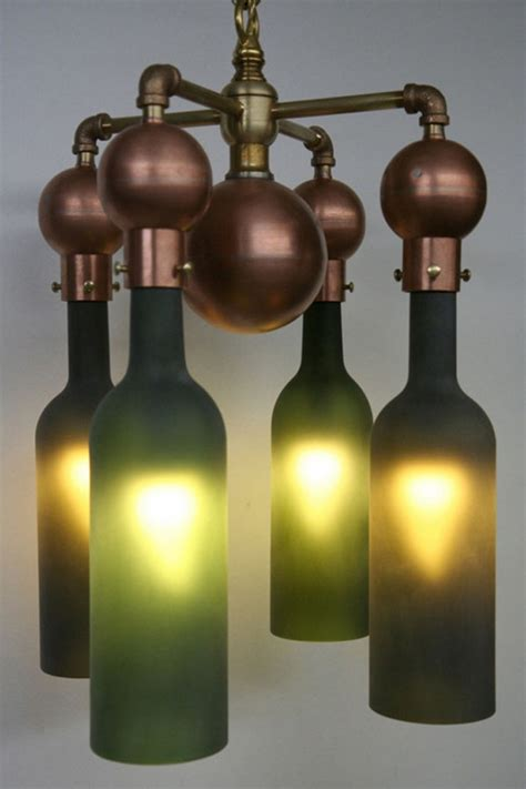 Recycled Wine Bottle Chandelier 20 Ideas Of How To Recycle Wine Bottles Wisely