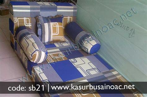 Kasur Bed Kecil sofa bed kecil motif tralis jual kasur busa inoac