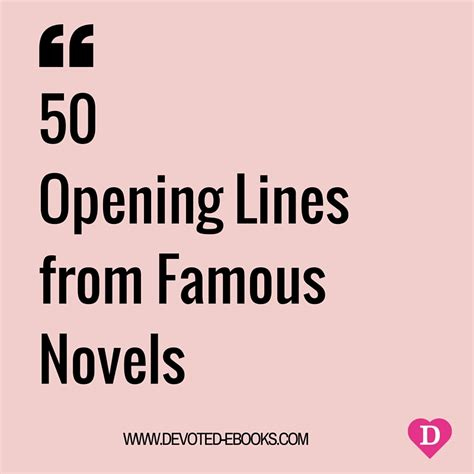 who said that the opening lines of great literature books opening lines from 50 novels