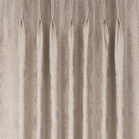 Buy Damask Blockout Pinch Pleat Curtains Online Curtain