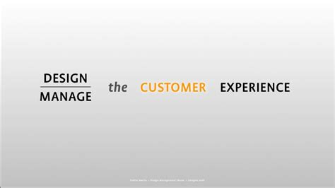 design management experience design management forum keynote hug the future service