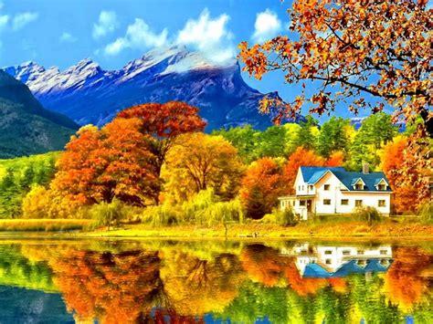 fall landscaping autumn landscape pixdaus