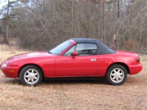 find used 1992 mazda miata 2 door convertible in greenwood south carolina united states