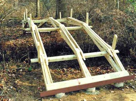 small bridge plans building a wooden picnic table how to build a small