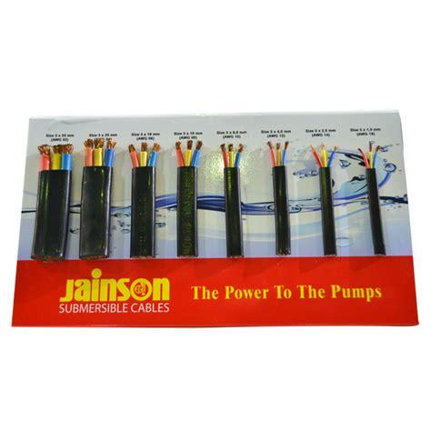 Kabel Untuk Pompa Submersible jainson kabel 3x10mm submersible kabel jainson gudang pompa