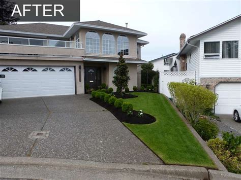 Makeover Tips by Front Yard Landscaping Makeover White Rock Bc